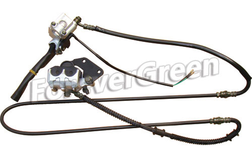 21007E Drear Hydraulic Brake Assy