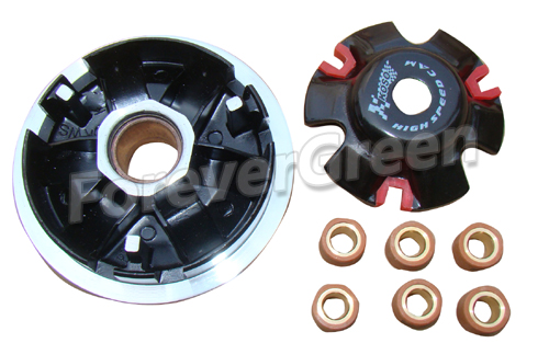PE129 Pulley Driver Assy GY6 150cc