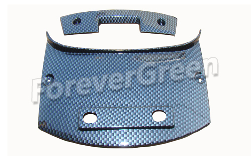 CF022 Rear Center Plate&Rear Decorating Plate(Carbon Fiber)