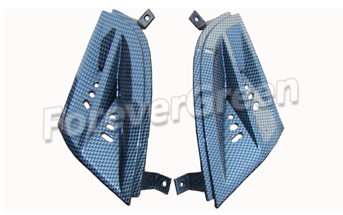 CF023 Front Grill(New Style) (Carbon Fiber)