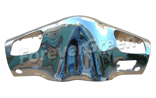 CH009 Chrome Front Instrument Cover