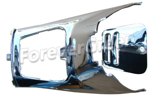 CH027 Chrome Under Seat Cover