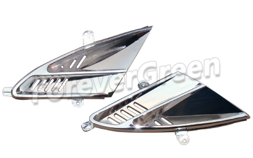 CH010B Chrome Front Grill