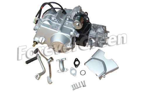 52000D Electric&Kick Starter Upper Manual Engine