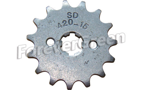 52031D Sprocket 420-15T 17mm