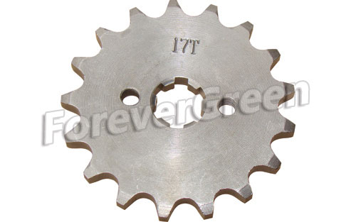 52031F Sprocket 420-17T 17mm