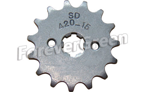 57031D Sprocket 420-15T 17mm
