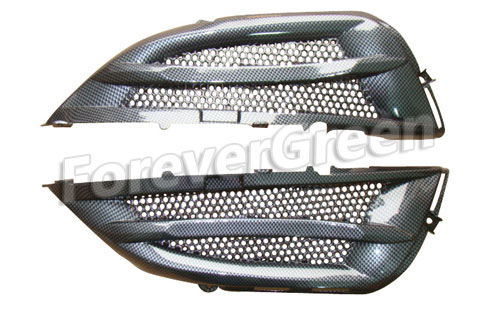 CF005 Rear Grill Cover(New style) (Carbon Fiber)