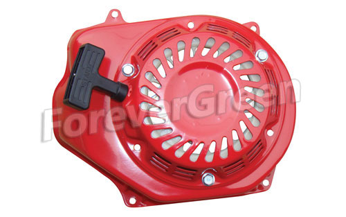 OT008 196cc 6.5 HP Honda Clone JF200 Recoil Pull Start with Red Shroud
